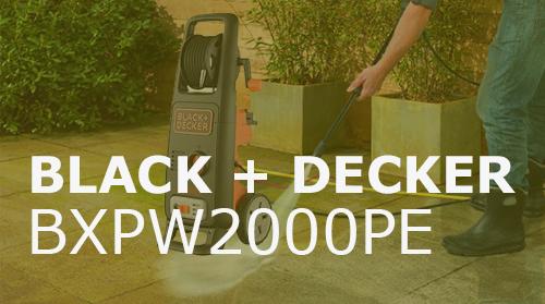 Hidrolimpiadora Black+Decker BXPW2000E – Opiniones y Análisis