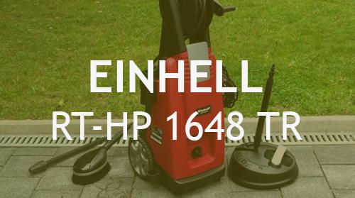 Hidrolimpiadora Einhell RT-HP 1648 TR  – Opiniones y Análisis