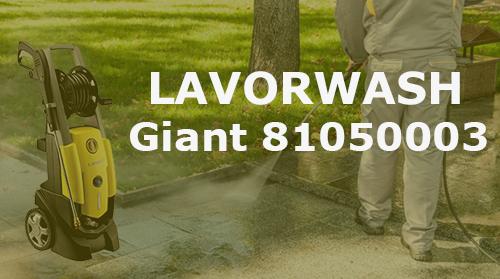Hidrolimpiadora Lavorwash Giant 81050003 – Revisión y Opiniones