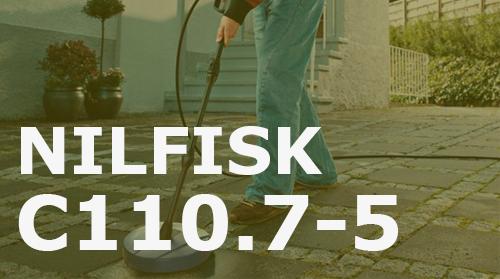 Hidrolimpiadora Nilfisk C110.7-5 – Opiniones y Análisis
