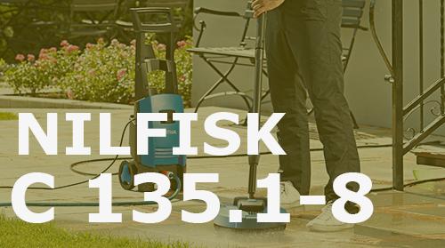 Hidrolimpiadora Nilfisk C 135.1-8 – Opiniones y Análisis